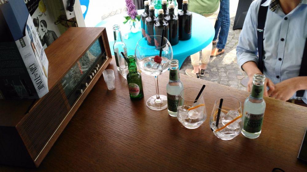 Gin & tonic menu