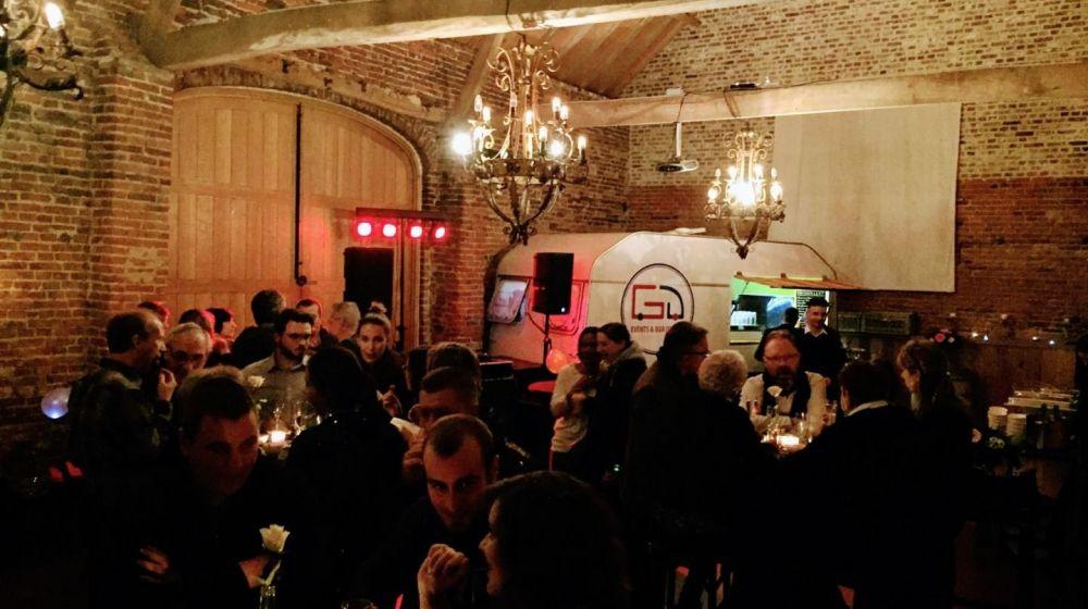 Mobiele bar voor feesten en gelegenheden